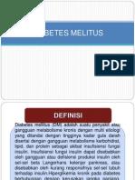 Presentasi Diabetes Melitus Ayu Wening g99141037