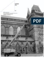Architect's report on west side of Centre Block