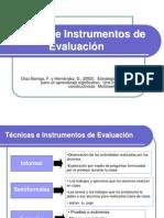 TECNICAS  E INSTRUMENTOS  DE  EVALUACION.ppt