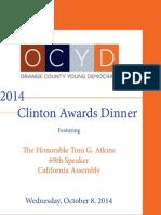 OCYD Clinton Awards Program