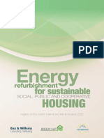 Energy Refurbishment for Sustainable Social Public and Cooperative Housing Insights on the Current Market and Trends Towards 2020
