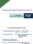 Rear Exchange Rate Targeting