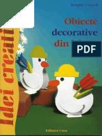 Obiecte Decorative Din Hartie