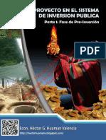 EL PROYECTO EN EL SISTEMA DE INVERSIÓN PUBLICA PARTE 1