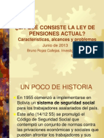 ANALISIS ACTUAL LEY PENSIONES 65 2013 CEDLA.ppt