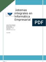 Sistemas Integrales en Informática Empresarial