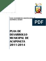 Plan de Desarrollo Municipal de Acaponeta