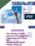 Bajaj Fans Presentation