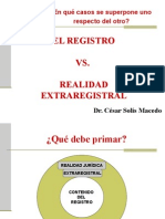 El Registro vs Realidad Extraregistral.ppt