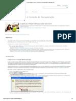 Como instalar e usar o Console de Recuperação no Windows XP.pdf