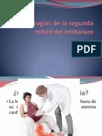 6 HEMORRAGIAS DE LA SEGUNDA MITAD DEL EMBARAZO.pptx