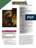 Razze di Eclipse, un'ambientazione di D&D 4th Ed.