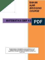 Bahan Bridging Matematika Kelas Vii