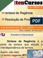 BittenCursos SINTAXE DE REGÊNCIA.pptx