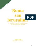 Roma sau Ierusalim ?