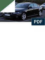 Audi A4 TFSI Ambition S-line (B8) – Frontansicht, 15. Oktober 2011, Velbert