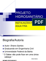 PROJETO HRIDROSANIT-RIO-Agua Fria.ppt