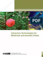 Extraction Technologies for Medicinal and Aromatic Plants