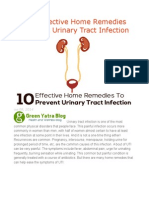 Top 10 Effective Home Remedies to Prevent Urinary Tract Infection