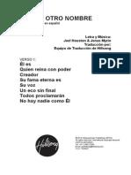 04 No Other Name (No hay otro Nombre) - Spanish.pdf
