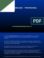 Ley de profesionales dedicados a la responsabilidad profesional