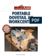 Dovetail Jig Workstation Plans