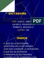 DICTADURA.ppt