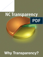 Why Transparency? Creating trust in government