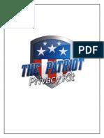 The Patriot Privacy Kit eBook 3.1