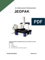 Geopak Manual