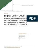 PEW - Elon DIgital Life in 2025_Report I 3-11-14