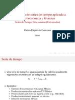 Series de Tiempo Estacionarias Univariadas