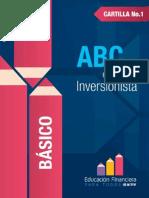 Cartilla 1 ABC Del Inversionista