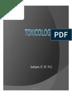Toxicology Part 1 2012