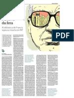''Folha'', cad. ''Ilustríssima'' -- ''Na cova da fera'' [sobre Paulo Francis], 5-5-2013.pdf