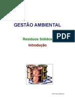 Gestão Ambiental - Introdução á Gestão de Resíduos Sólidos- Chefias
