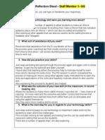 peer coaching reflection sheet 1