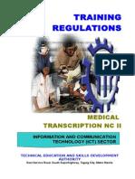 TR - MEDICAL TRANSCRIPTION NC II.doc