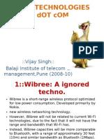 New Technologies of Telecom