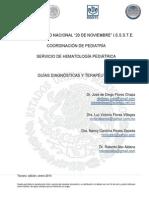 2014 3a edicion GUIAS DIAGNOSTICAS Y TERAPEUTICAS DEL SERVICIO DE HEMATOLOGIA PEDIATRICA.pdf