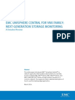 Docu38404 White Paper Unisphere Central for VNX Family Next Generation Storage Monitoring a Detailed Review
