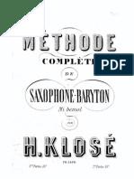 H. Klose Methode Complete de Saxophone Baryton Eb.pdf