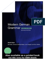 57232399 Modern German Grammar Workbook