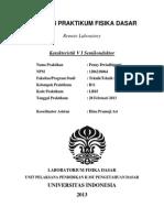 1206218064 Penny Dwiadhiputri - Laporan Praktikum Fisika Dasar LR03
