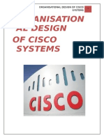 Organisation Design - Cisco (OB)