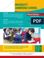 UCS Newsletter May 2014