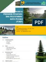 Evaluasi Kemajuan Program Penataan dan Pelestarian Kota Pusaka (P3KP)
