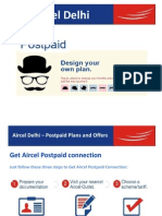 Aircel Delhi- Postpaid Plans and Offers