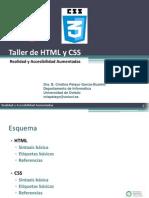Taller breve de HTML5-CSS