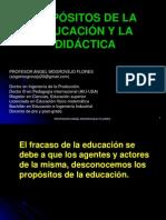 1.LOS PROPOSITOS DE LA EDUCACION Y LA DIDACTICA.ppt